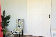 Our Custom Made Barn Door!